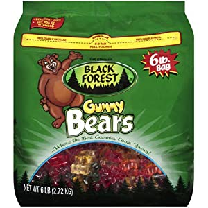 Black Forest Gummy Bears - 6 Lb Bag