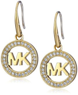 Michael-Kors-MK-Logo-Drop-Earrings