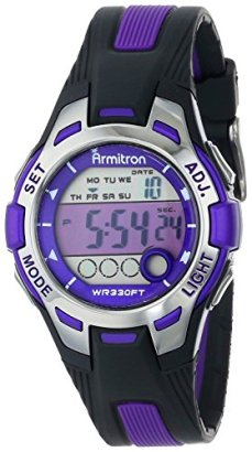 Armitron-Sport-Womens-457030-Digital-Chronograph-Resin-Strap-Watch