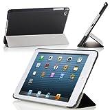 MoKo Ultra Slim Lightweight Smartshell Stand Case for Apple iPad Mini 7.9-Inch Tablet, BLACK (with Smart Cover Auto Wake/Sleep)