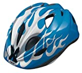 ABUS Kinder Fahrradhelm Super Chilly, X-flame blue, 52-57 cm, 51991-8