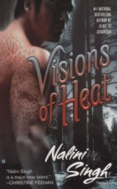 Book cover Visions of Heat by Nalini Singh