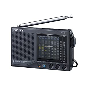 Sony ICF-SW23 FM / MW / SW1-7 Portable World Band Receiver Radio (Japan Import)