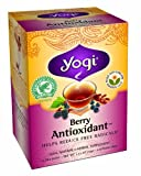 Yogi Berry Antioxidant Tea, 16-Count Tea Bags (Pack of 6)