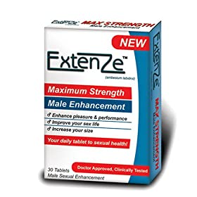 ExtenZe Maximum Strength Male Enhancement, 30-Count Tablets