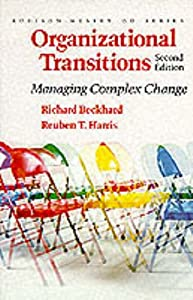 "Cover of ""Organizational Transitions: Man..."