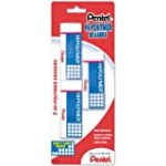 Pentel Hi-Polymer Block Eraser, Large, 3 Pack (ZEH10BP3-K6) for $5.85 + Shipping