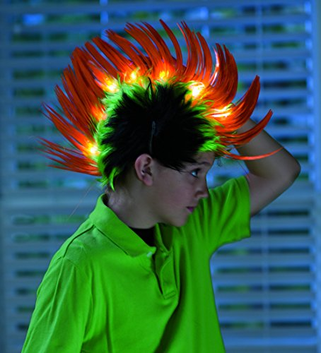 Light-Up Crazy Hair Faux-Hawk