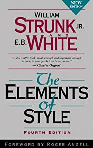 """Cover of """"The Elements of Style, Fourth E..."""