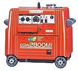 新ダイワ インバーター発電機 溶接機 EGW2800MI ウエルダー
