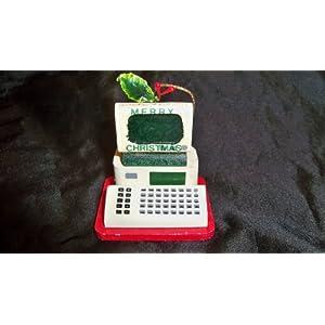 Merry Christmas Computer Christmas Ornament