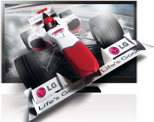 LG 50PZ250 127 cm (50 Zoll) 3D Plasma Fernseher, Energieeffizienzklasse C  (Full-HD, 600Hz SFD, DVB-T/C, CI+) schwarz