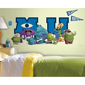Monsters University Wall Decals Megapack