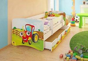 Kinderbett baggerbett  Traktorbett Ratgeber & Shop - Traktorbetten.de
