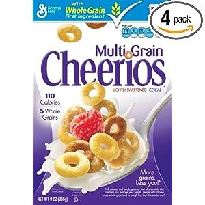 Cheerios MultiGrain Cereal, 16.2-Ounce Box