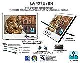 Yiynova MVP22U+ IPS 21.5インチ フルHD ペンタブレット デジタイザー 液晶モニター VESAスタンド (Windows & Mac対応)