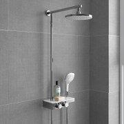 Round-Thermostatic-Bar-Mixer-Shower-Set-Valve-with-Shelf-8-Head-Handset-SP5100