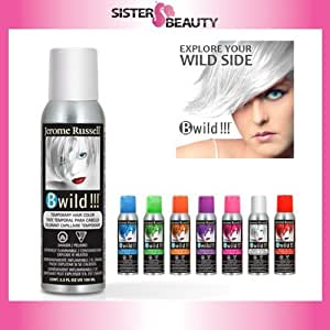 jerome russell b wild color spray siberian white 3 5 ounce chemical hair dyes