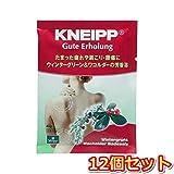 クナイプ・ジャパン クナイプグーテエアホールング ウィンターグリーン&ワコルダー 40g(医薬部外品) 12個セット