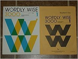 Wordly Wise Book 1 Kenneth Hodkinson Sandra Adams