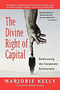 "Cover of ""The Divine Right of Capital: De..."