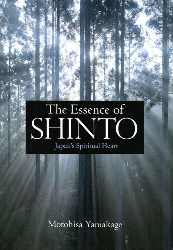 Cover of the novel 'The Essence of Shinto: Japan's Spiritual Heart.'