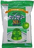 かんてんぱぱ カップゼリー 青りんご味100gX2袋 約6人分x2袋