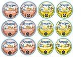 NEW! SNAPPLE K-cups! PEACH & LEMON Iced Tea Sampler 12 K-cups - NEWLY Released K-cups by SNAPPLE