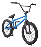 "SE Bicycles Gaudium BMX Bicycle, Blue Metal, 20""/One Size"