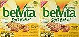 Nabisco Belvita Soft Baked Banana Bread Flavored Breakfast Biscuits, 5 packs - 1.76 oz. ea., (Pack of 2)