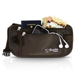 Women's Virtually Invisible Money Belt With RFID Blocking Technology