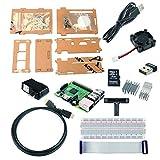 サインスマート Raspberry Pi 2 スターターキット ラズパイ2 Model B付き クーリングファン、ブレッドボード、ケース、HDMI GPIO、USB充電器、Wifiドングル 多様部品揃いました