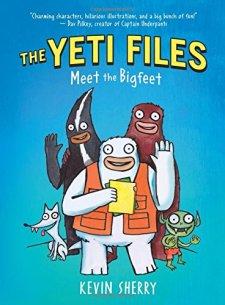 The Yeti Files #1: Meet the Bigfeet by Kevin Sherry| wearewordnerds.com