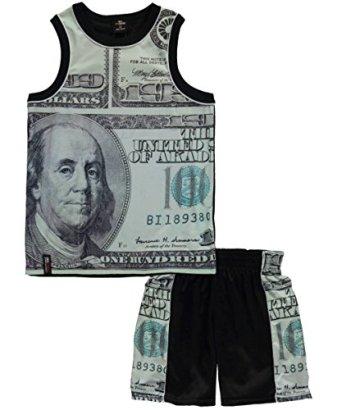 Akademiks-Little-Boys-Money-Panels-2-Piece-Outfit-black-4