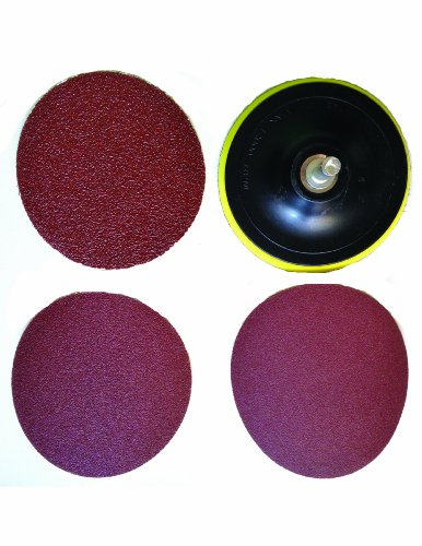 QuickSander Hook & Loop Mount Drill Pad with 5 inch ...