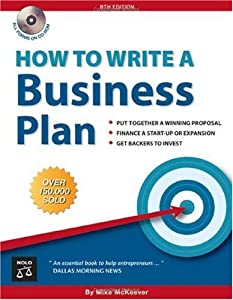 "Cover of ""How to Write a Business Plan"""