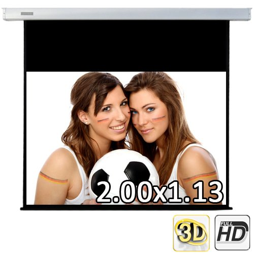 230 cm (200x113 sichtbar) ULTRALUXX © RM Automatik Rolloleinwand - 16:9 LUXUS PROFI ROLLO LEINWAND - Neuware DIREKT vom Hersteller