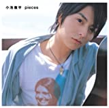 pieces(10万枚生産限定盤)(DVD付) [CD+DVD, Limited Edition] / 小池徹平 (CD - 2007)