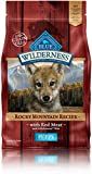 Blue Buffalo Wilderness Puppy Rocky Mountain Recipes Red Meat-Grain Free 4 lb