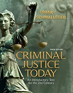 "Cover of ""Criminal Justice Today: An Intr..."