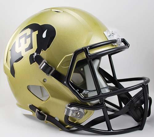 Colorado Buffaloes Black Helmets