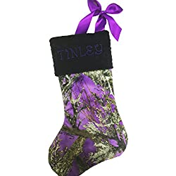 christmas stockingcamo christmas stocking real tree christmas stocking true timber christmas stocking - Purple Christmas Stocking