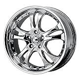 American Racing Casino (Series AR683) Chrome - 18 X 8 Inch Wheel