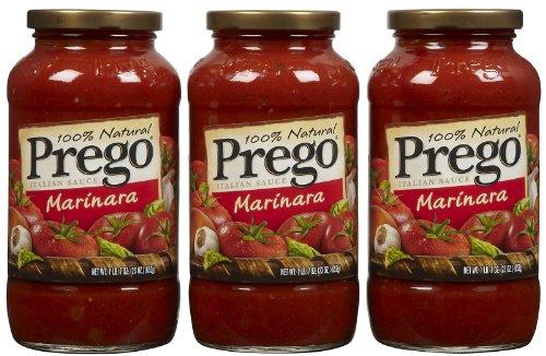 Prego Marinara Sauce, 23 oz, 3 pk