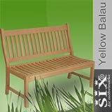 Gartenbank New Jersey ohne Armlehne 2 Sitzer