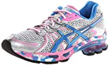 ASICS Women's GEL-Sendai Running Shoe,White/Blue/Silver,7.5 M US
