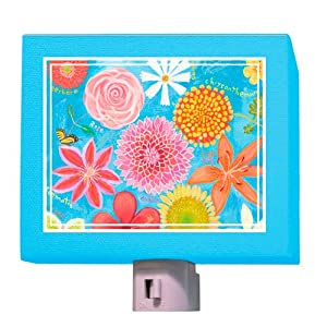 Oopsy Daisy Exotic Flowers Night Light