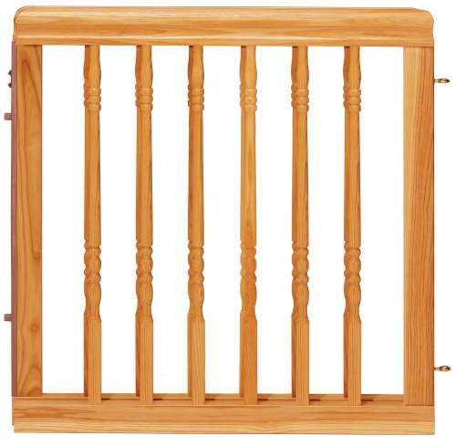 Evenflo Home Decor Wood Swing Gate