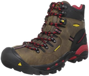 KEEN Utility Men's Pittsburgh Steel Toe Work Boot,Bison,10 D US