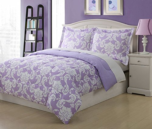 Full Kids Dainty Bedding Comforter Set